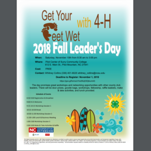 Cover photo for Fall Leader's Day