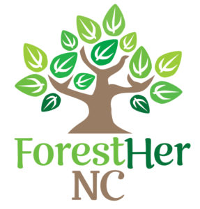 Cover photo for Upcoming ForestHer NC Webinars on Prescribed Fire