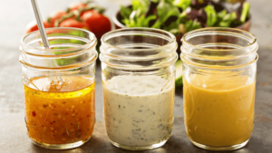 Cover photo for Lunch and Learn: Make Your Own Salad Dressing