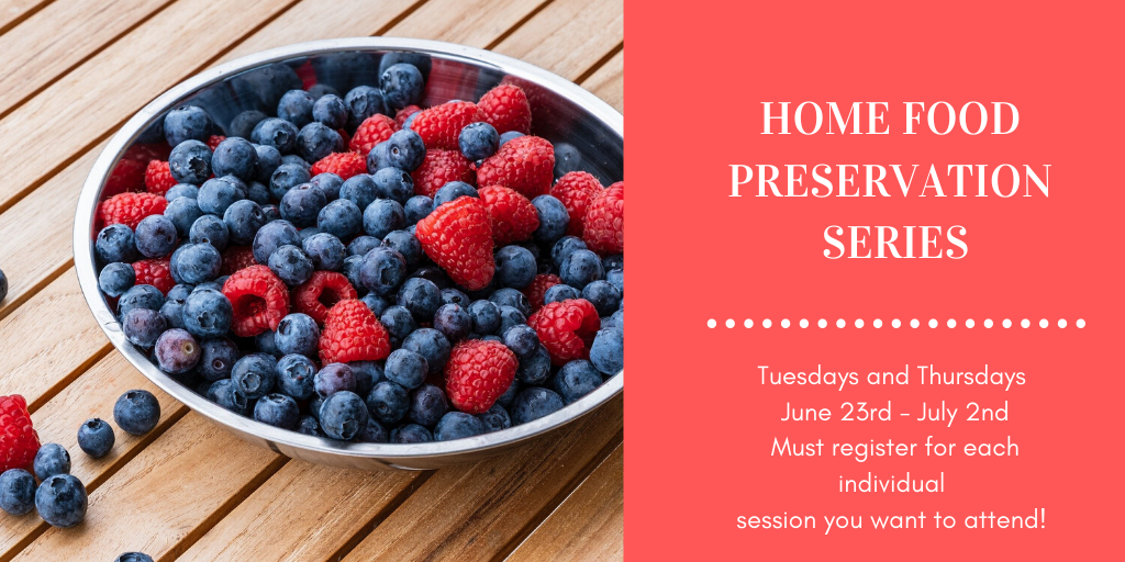 Home Food Preservation Series