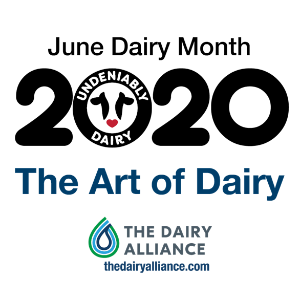 June Dairy Month 2020 logo with The Dairy Alliance
