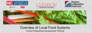 Overview of Local Food Systems Professional Development Series Logo