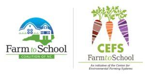 Farm to School Coalition and CEFS Farm to School Logos